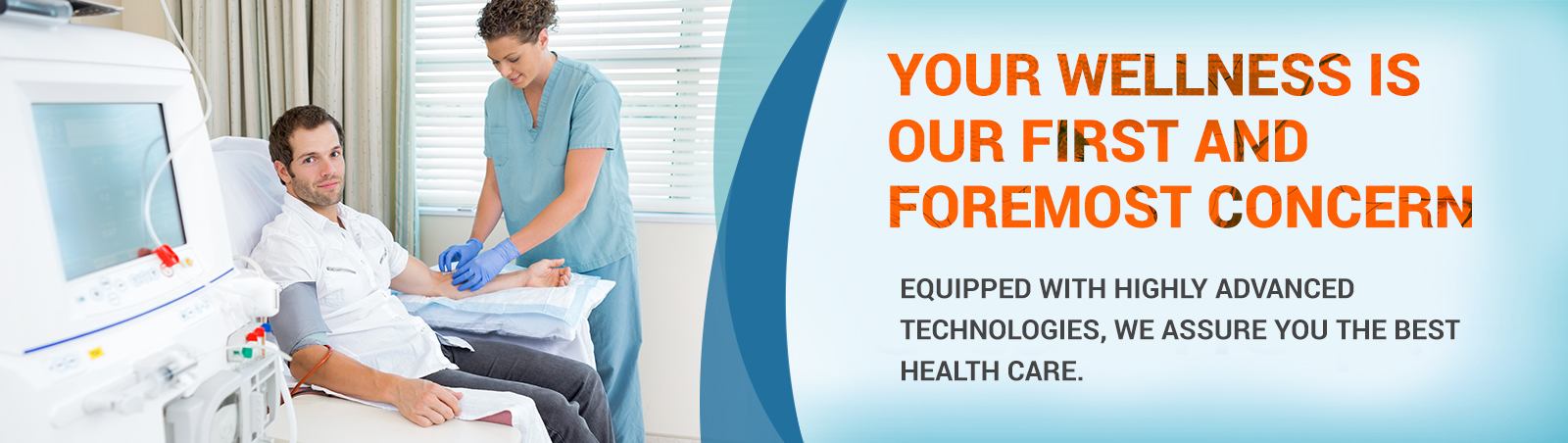 Multi-specialty hospital at bangalore